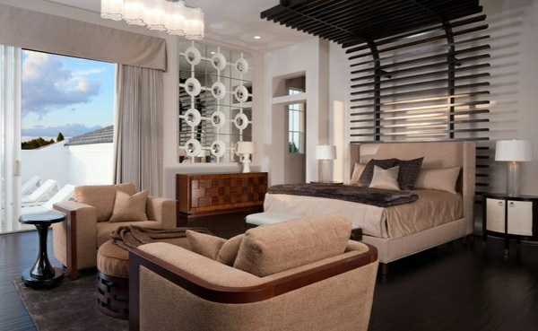 20 Cool Master Bedroom Designs Collection: The Bedroom Set Completely Chic
