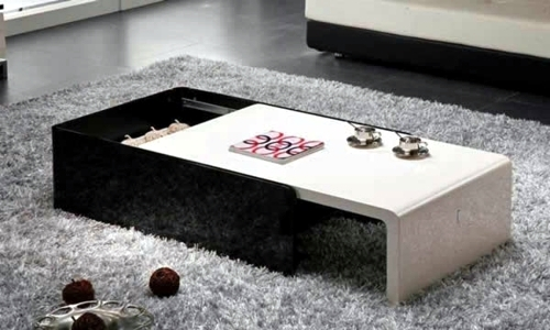 modern attractive coffee tables for your living room 50. Black Bedroom Furniture Sets. Home Design Ideas