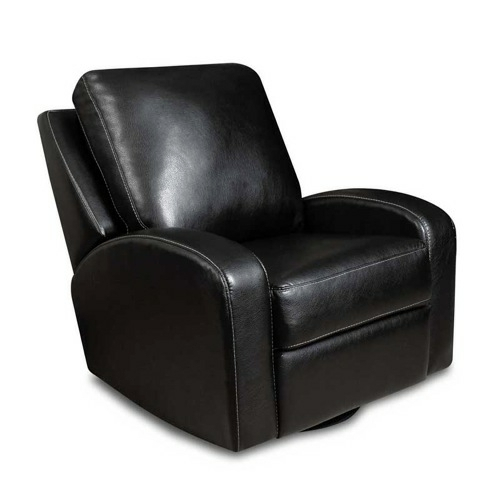 black leather chair by thomas black small chair of modern television