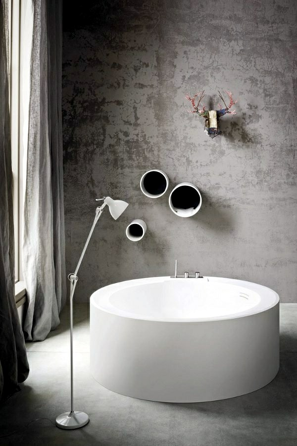 Freestanding bathtub in modern bathroom  Interior Design Ideas  AVSO ...