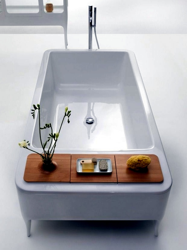 Freestanding Bathtub In Modern Bathroom Interior Design Ideas Avso Org