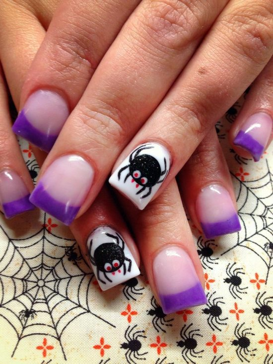 Nail Polish Ideas For Halloween