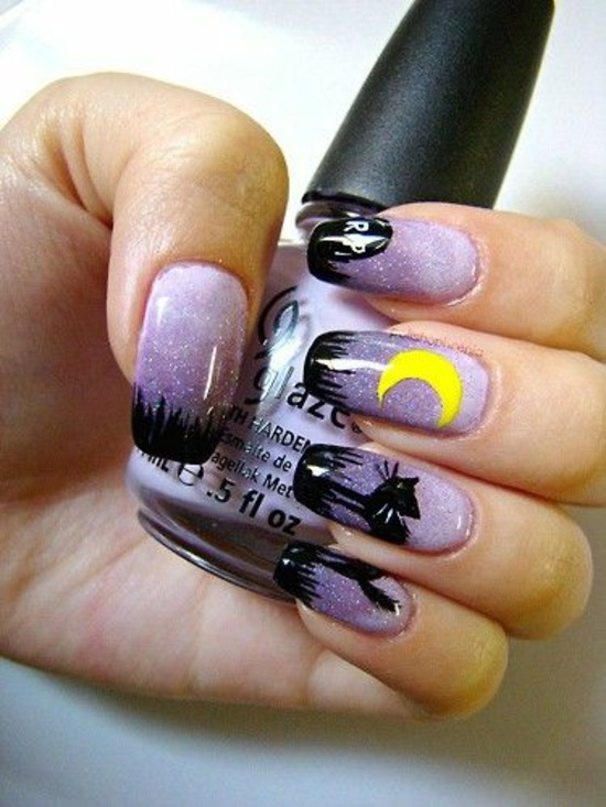 Nail Polish Ideas for Halloween – 40 inspiring nail design ...
