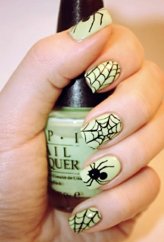 Old Fashioned Spider Nails Design Gallery - Nail Paint Design Ideas ...