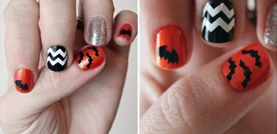 Nail polish ideas for halloween 40 inspiring nail design rafters and sequins are also present nail polish ideas for halloween 40 inspiring nail design pictures prinsesfo Image collections