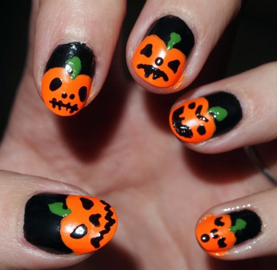 Nail Colors Halloween: Nail Polish Ideas For Halloween
