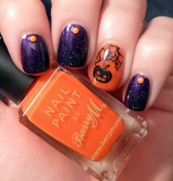 Nail Polish Ideas for Halloween – 40 inspiring nail design pictures ...