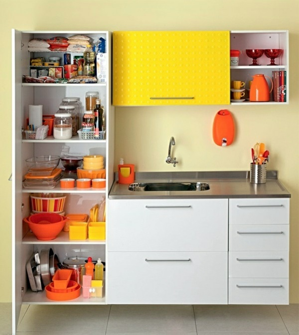Small Straight Kitchen Design. K che  Kitchen design ideas organize kitchen cabinets correctly
