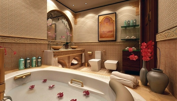 Precious With An Oriental Atmosphere 13 Ultimate Romantic Bath Ideas