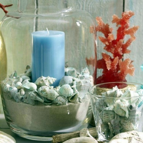 Cool candles ideas for summer original centerpiece on