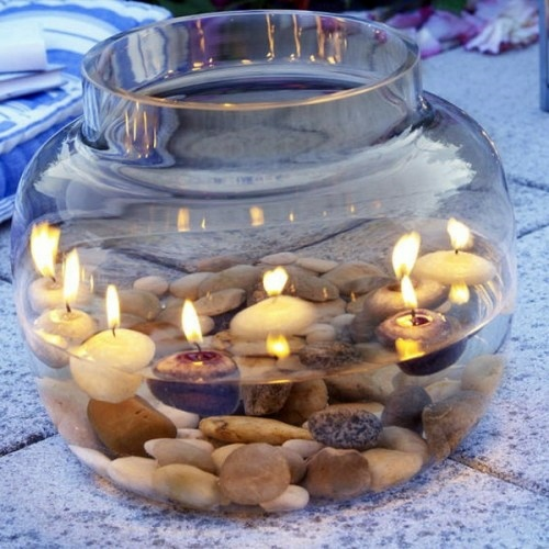 Floating Candle Centerpieces For Tables Ideas: 37 Cool Candles Ideas For Summer