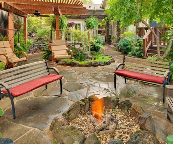 Landscaping - 15 ideas for tropical retreat in your garden