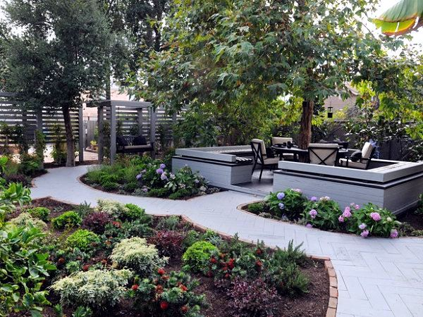 Provide your garden with shade and purity interior for Jamie durie garden designs