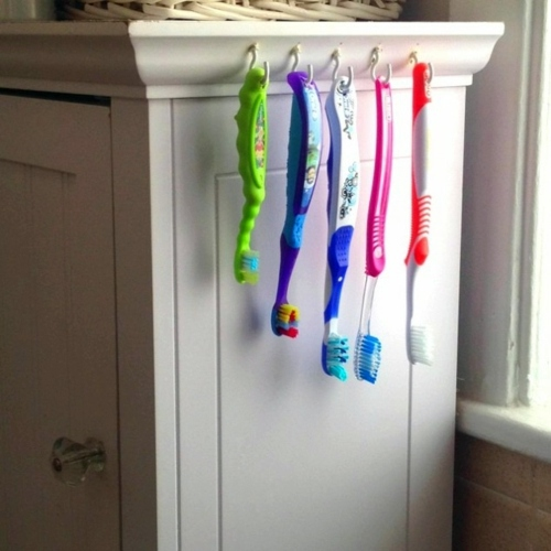 15 Diy Toothbrush Holder Ideas Interior Design Ideas