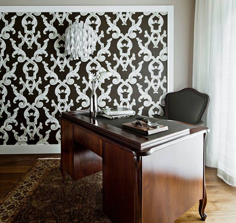 Cool Decorating tips – a chic, modern apartment in Warsaw | Interior on antique desks for home office, turquoise home office, black white foyer, black white books, light blue home office, sage home office, gray home office, teal home office, brown home office, navy home office, hunter green home office, fuschia home office, black and white dressers ideas, oatmeal home office, black white craft room, gold home office, peach home office, ivory home office, black white lightning, orange home office,