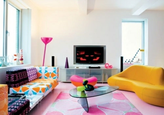Wohnideen   Modern Living Room   50 Decorating Ideas With A Twist
