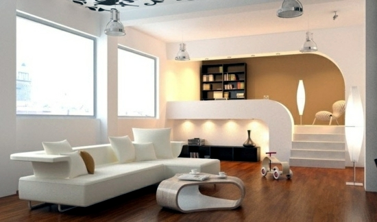 ... Wohnzimmer Ideen   Modern Living Room   50 Decorating Ideas With A Twist