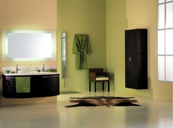 Bathroom wall color – fresh ideas for small spaces | Interior Design ...