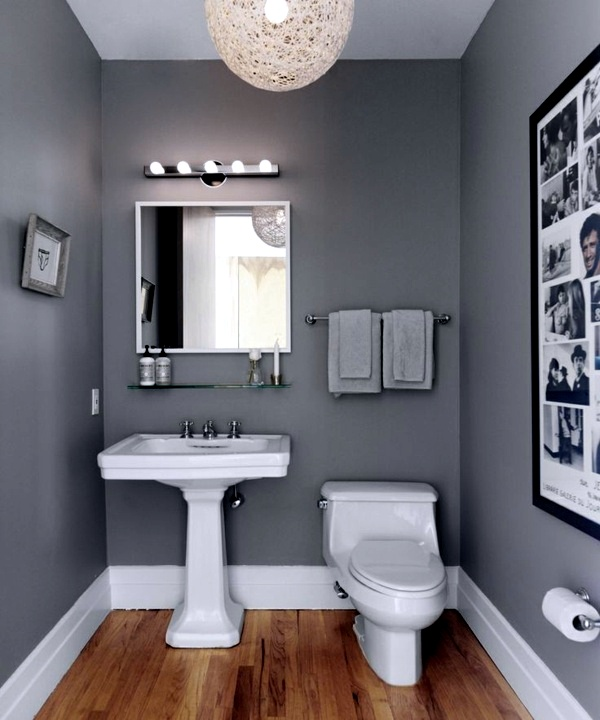 Wandfarbe   Bathroom Wall Color   Fresh Ideas For Small Spaces
