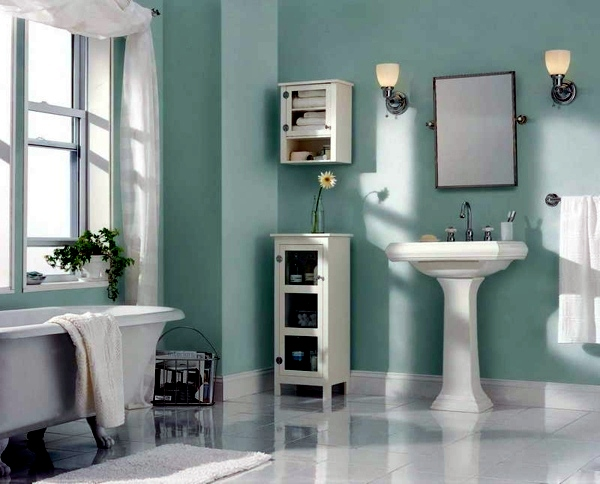 Wall Color Ideas For Small Bathroom : Bathroom wall color fresh ideas for small spaces