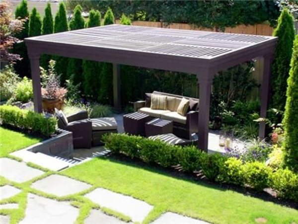 Pergola Itself Garden Design Ideas Interior Design Ideas