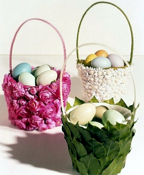 Send DIY Ideas On How To Craft A Festive Easter Basket