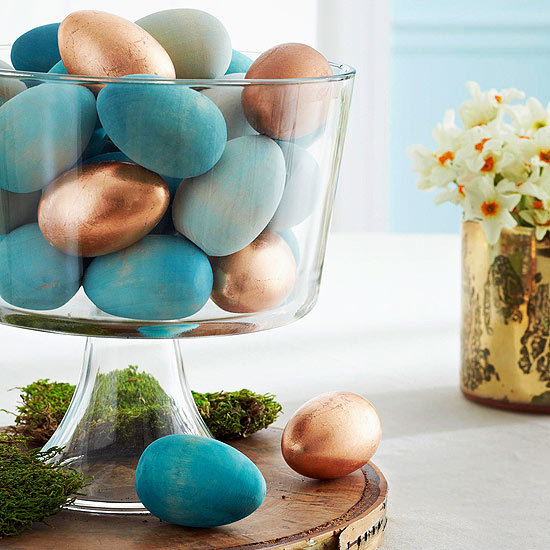 aspect natural decoration easter 20 easy homemade easter table decorations and placemats - Homemade Decorations