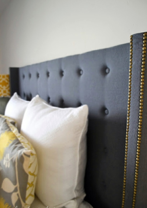 Kopfteil   Upholstered Headboards Do It Yourself   Thematic Tips And Photos