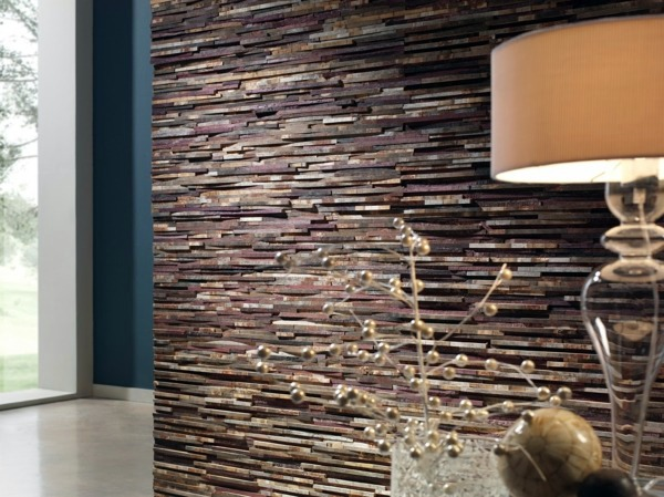 Cheap wall covering with artificial stone  Interior ...