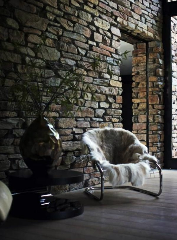 Interior Stone Veneer >> Cheap wall covering with artificial stone | Interior ...