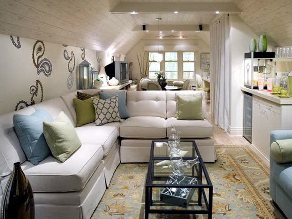 Attractive Living Room Design Ideas From Candice Olson