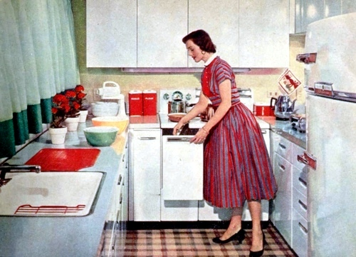 15 Interesting And Practical Ideas For Old Fashioned Kitchens