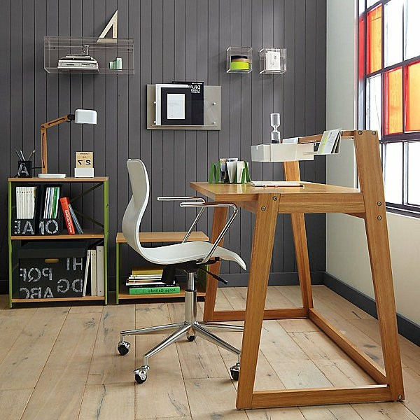 computer table designs for office. warm wood and elegant shapes computer table design with style designs for office
