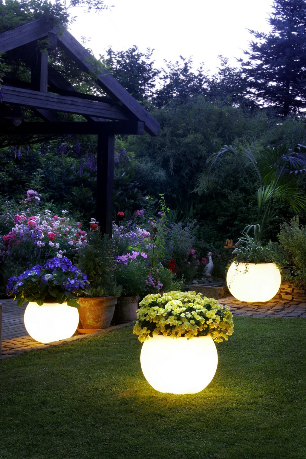 Wohnzimmer - Tips For Garden Lighting Ideas for light games
