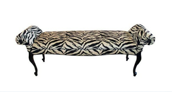 zebra print bedroom furniture. vintage bank converts zebra chenille schlafzimmermbel a bedroom bench with animal pattern is one of the coolest furniture at print 2