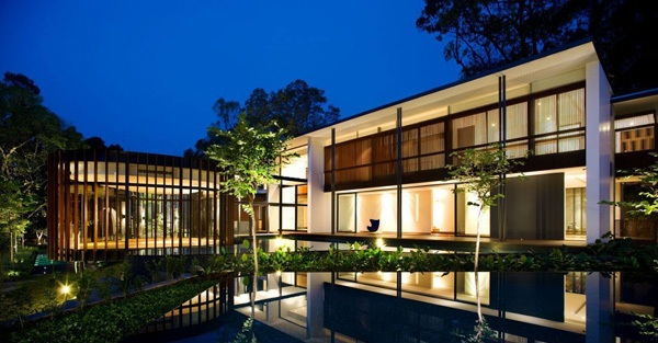 Contemporary House In Singapore Screen House By The Architect K2ld