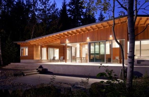 Wooden bungalow prefab house 50 highly modern wood and log homes