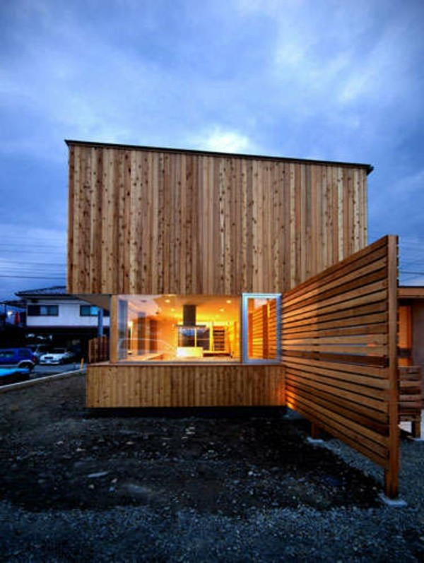 Wooden bungalow prefab house 50 highly modern wood and for Modern wooden house design