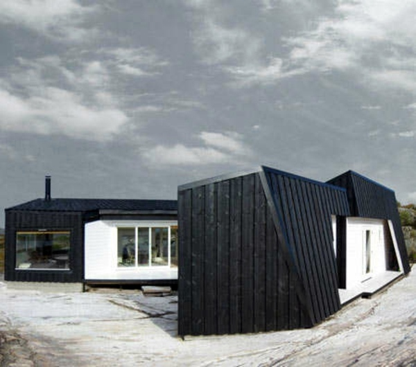 7 Clever Ideas For A Secure Remote Cabin: Wooden Bungalow Prefab House