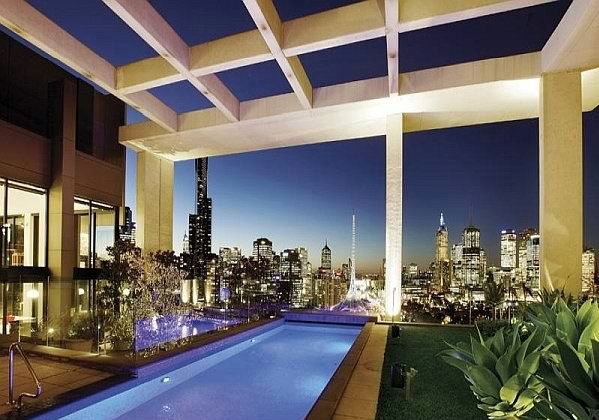 A stunning roof terrace design - 15 rooftop pools that will look just