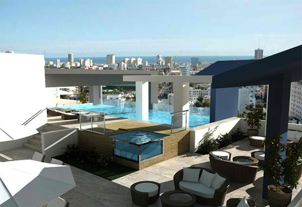 Terrace Pools a stunning roof terrace design – 15 rooftop pools that will look