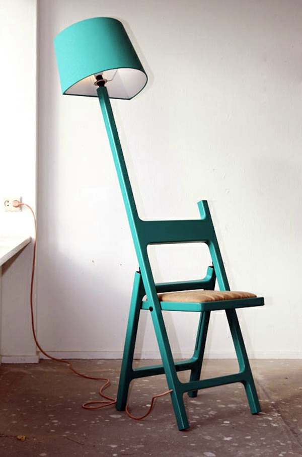 Designer lamp and chair combined in one – extraordinary idea of ...
