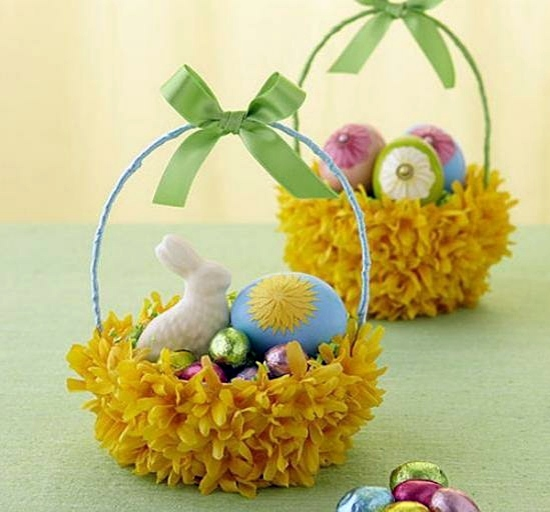 Easter Decoration Ideas With Brightly Painted And