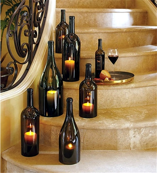 Excellent Tinkering With Glass Bottles 15 Creative Diy Ideas To Make You Largest Home Design Picture Inspirations Pitcheantrous