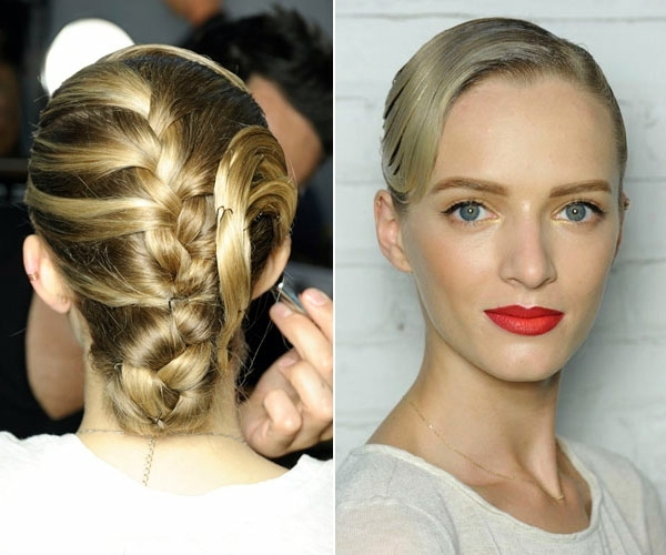 Prom Hairstyles Of Curls On Ponytails To Braids Interior Design