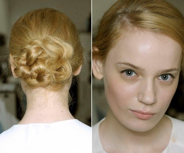 Prom Hairstyles Of Curls On Ponytails To Braids