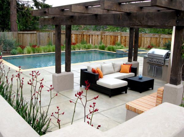 Shaded to perfection: 40 ideas for elegant design pergola design ...