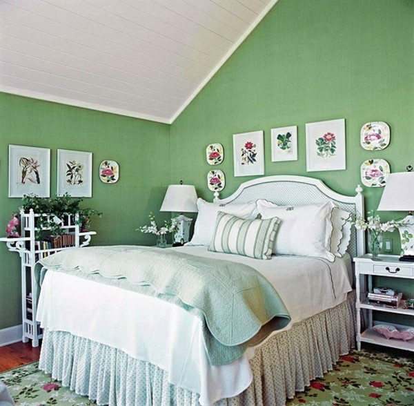 Schlafzimmer Farben Gestalten Decorations In Spanish Wand: Influential Colors And Decoration