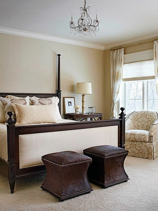 Beige And Brown Color Ideas Bedroom   Influential Colors And Decoration