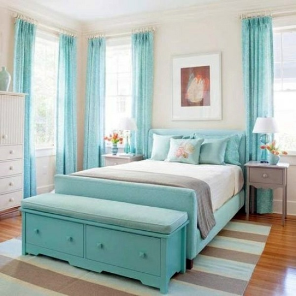 Color Ideas Bedroom – influential colors and decoration | Interior on